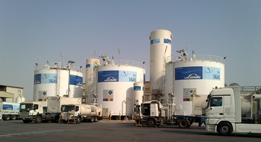 Linde SIGAS air separation unit in Dammam, Saudi Arabia.